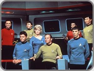 Capt Kirk and Crew